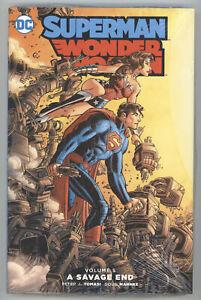 Superman Wonder Woman Savage End Vol 5 HC DC NM Sealed 25 26 27 28 29 30 31