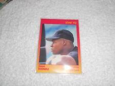 FRANK THOMAS STAR 92 BASEBALL AD CARD FREE SHIPPING