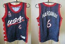 USA team #6 Tim Hardaway Size S Champion Basketball America jersey shirt maillot