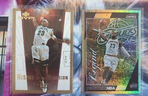 Lebron James Rookie + Gold card! RARE 🔥