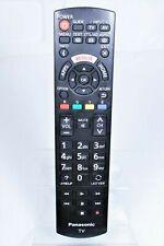 GENUINE PANASONIC N2QAYB001008 PLASMA TV REMOTE CONTROL TH-55CS650Z TH-40DS610U