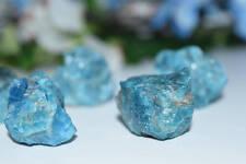 Raw Blue Apatite Crystal Lg - Crystal Energy, Protection, Reiki, Wicca, Pagan, E