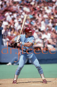 Lance Parrish PHILADELPHIA PHILLIES - 35mm Baseball Slide