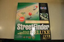 COMPLETE IN BOX RAND MCNALLY STREET FINDER 1998 EDITION PC COMPUTER BIG BOX
