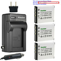 Kastar Battery AC Travel Charger for MINOX 02491-0028-01 PRIMA DS8330-1 DS8330