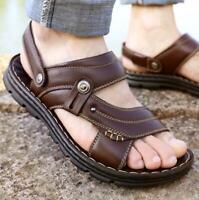 Mens Summer Sandals Slippers Beach Water Walking Shoes Casual Slip On Flip Flop
