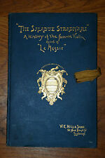 "The Salabue Stradivari ""Le Messie"" The Messiah First Edition 1891 Hill"