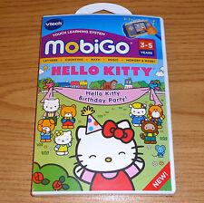 HELLO KITTY == VTech Mobigo, Mobigo 2, Mobigo Touch game == New, Sealed