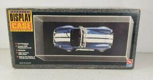 Vintage 1995 AMT - ERTL Prestige Display Case 1/18 Models  # 7497 NIB