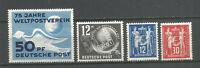 DDR  Postfrisch 1949 kompletter Jahrgang