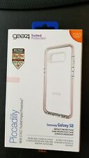 New Gear4 D3O Piccadilly Clear/Rose Cover Case for Samsung Galaxy S8