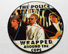 The POLICE Wrapped around the cop RARE PICTURE DISC LP 200 copies (1988) MINT