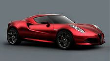 2014 ALFA ROMEO 4C SPIDER ELECTRIC CAR POSTER PRINT 20x36 HI RES