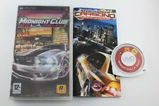 PSP MIDNIGHT CLUB L.A. REMIX COMPLETO PAL ESPAÑA