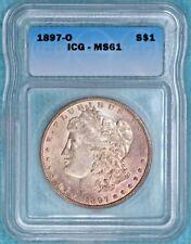 1897-O MS-61 Morgan Silver Dollar Uncirculated Unc
