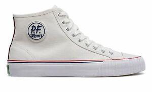 PF Flyers Unisex Center Hi Shoes White Size 4