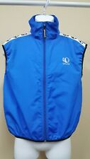 Pearl Izumi Zephrr Cycling Biking Vest Mens L Blue Mesh Back Full Zip Sleeveless