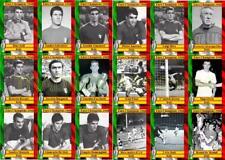 Italy 1968 European Championship winners football trading cards Euro 1968
