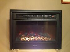 """RV ELECTRIC FIREPLACE 26"""" WITH REMOTE AND  FRONT"""