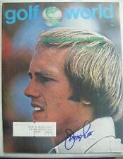 JERRY PATE signed 1976 GOLF WORLD magazine AUTO Autographed ALABAMA CRIMSON TIDE