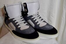 $1150 NIB JIMMY CHOO MEN'S BRADLEY LUXURY HIGH TOP SNEAKERS 44 10 11