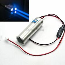 450nm 100mW Blue Laser Dot Module Thick Fat Beam Bar Stage Light 3.6-5V