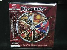RHAPSODY Tales From The Emerald Sword Saga JAPAN SHM Mini LP CD Vision Divine