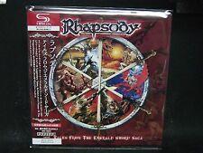 RHAPSODY Tales From The Emerald Sword Saga JAPAN SHM Mini LP CD Vision Divine