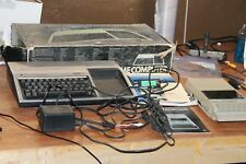 Texas Instruments TI-99/4A Home Computer With Box & Cassette Player + Cables