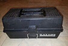 Vintage Black Hawk Tackle Box