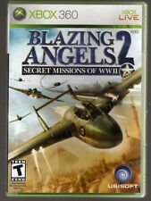 BLAZING ANGELS: 2 SECRET MISSIONS OF WWII XBOX 360 COMPLETE