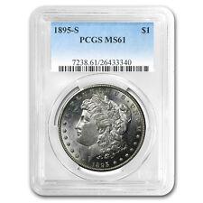 1895-S Morgan Dollar MS-61 PCGS