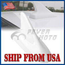 US White Shark Fin Top Roof Top Mount Dummy Antenna Aerial For Honda Accord FM