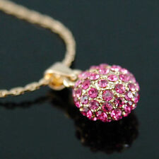 Yellow Gold Plated Round Costume Necklaces & Pendants
