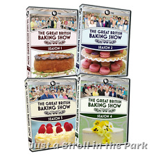 The Great British Baking Show: TV Series Complete Seasons 1 2 3 4 Box/DVD Set(s)