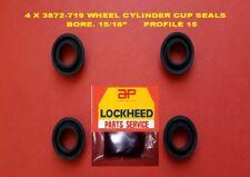 "4 X 3872-719 LOCKHEED WHEEL CYLINDER POLO  SEALS 15/16"" BORE.  PROFILE 15"
