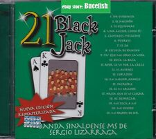 Banda Sinaloense Ms de Sergio Lizarraga 21 Black Jack CD New Nuevo sealed