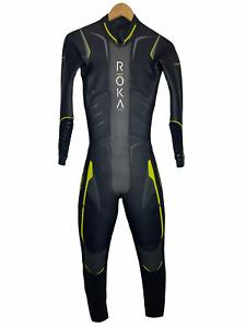 Roka Mens Full Triathlon Wetsuit Size ST Maverick Pro - Please Read
