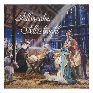 Nativity Advent Calendar & Envelope - Christmas Countdown - 24 Windows - XM8236