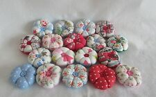 BULK BUY 10 X MINI CATH KIDSTON fabric flower style pin cushions ROSE/STAR/DOT