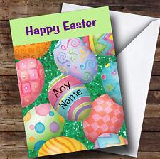 Uova di Pasqua personalizzata Pasqua Saluti CARD