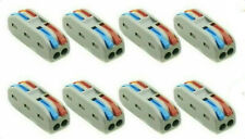8 X WAGO Type SPL-2 ELECTRICAL CONNECTORS 32 Amp