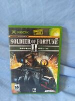 Soldier Of Fortune 2: Double Helix For Xbox Original Shooter