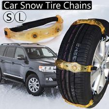 Winter Anti-skid Chains Car Snow Mud Wheel Tyre Thickened Tire Tendon 225mm-285m