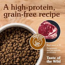 Taste of the Wild High Prairie Grain-Free Roasted Bison & Venison Dry Puppy Dog