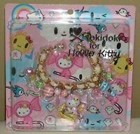 Tokidoki x Hello Kitty Candy Cane Bag Charm Key Chain Sanrio 2009 New Rare