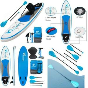 Freein Stand Up Paddle Board Inflatable Sup 10'/10'6 Long With Kayak Conversion