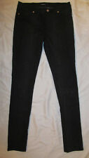 BEBE animal print snake python pull on leggngs coated skinny jeans 30 NWOT
