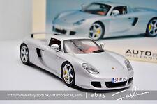 Autoart 1:18 Porsche Carrera GT Silver
