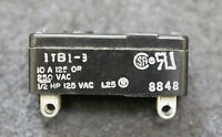 HONEYWELL 1 Mikroschalter micro switch 1TB1-3 125/250VAC 15A